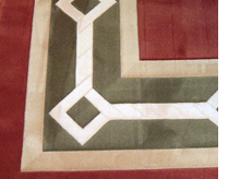 Rug with Inlays